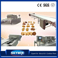 Automatic cookies extruder machine