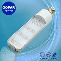 2015 new LED plc lamp 8W led parking light 360 degree