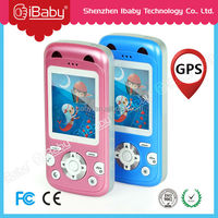 Ibaby popular play funy games gps tracking kids toy phones