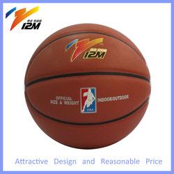 Basketball in bulk,basketball made in china,size 7 rubber bladder basketball