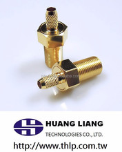 RF custom Taiwan manufacturer coaxial jack MCX screw connector