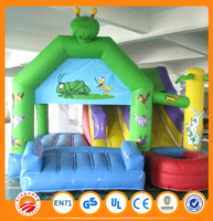 Factory price inflatable happy hop bouncy castle
