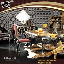 3D design wall decor, vinyl wallpaper, wallcovering, wall decoration