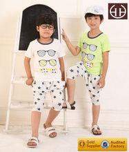 ( AG153 ) 11-14y impresión odile algodón venta al por mayor niños ropa ropa para niños verano 2015