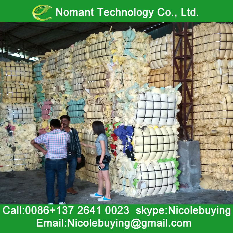 High Quality Used Foam Sponge/Old Waste Foam Sponge Waste PU Foam Scrap