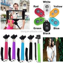 2015 Fashion Selfie Stick With bluetooth,Wireless Monopod Bluetooth Monopod For Mobile phone