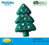 Christmas tree shaped pet vinyl toy manufacturer