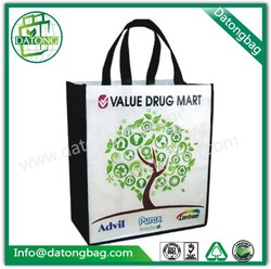 Customised shopping bag waterproof tote bag PP non woven bag