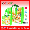 eco friendly bag, 4 handles recycled PET shopping bags