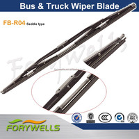 FB-R04 saddle type colored windshield wiper for bus train boat