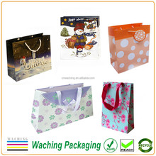Gift Packaging Use and Paper Material Christmas Bag