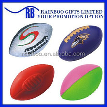 Hot selling Eco-friendly logo printed cheap pu custom rugby ball for promotion