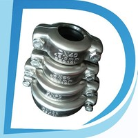 """Easy Installation 4"""" DN100 108mm-114mm spring clip connector for pipe joint in industrial"""