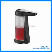 plastic wall mounted toilet auto soap dispenser