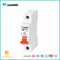 Solid quality and price MCB switch 16 amp 1 pole miniature circuit breaker for lighting and motor