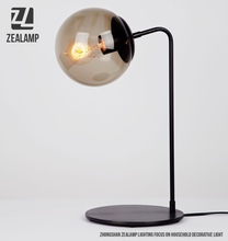 Modo Hand Blown Glass Table Lamps Modern Brief Bubble Table Lights Bedroom Living Room Study Reading Desk Light