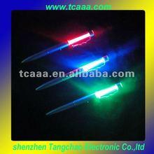 Colorful metal led pen