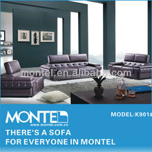 luxury furniture purple leather sectional sofa classic