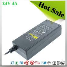 ac dc adapter for digital photo frame 24V 4A Desktop