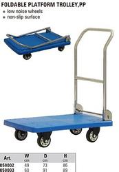 New platform hand trolley , platform hand trolley for warehouse, platform trolley