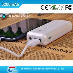 LED Torch rohs 5000 mobile power