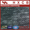 100 Polyester Nonwoven Adhesive Interlinling Non Woven Fusible Interlining Non-woven Fusing Linings Fabric