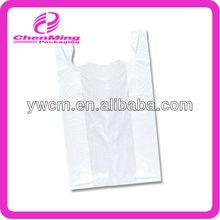 Yiwu white hdpe tshirt shopping bags for fruit