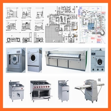 Kitchen equipments for Hotel