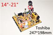 universal color tv circuit