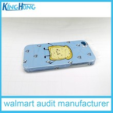 3D sublimation plastic cell phone case/ 3D cell phone case /3D sublimati blank mobile phone cover