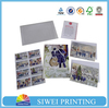 handmade decoration greeting card/wholesale Christmas greeting cards with envelope