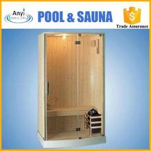 One Person Delux Finish Sauna Room