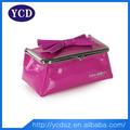 Beleza-de-rosa caso maquiagem saco cosméticos