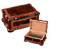 Shenzhen Brands Of Cigar Accessories Pack And Painting Wood Empty Cigar Boxes And Vintage Luxury Cigar Humidor