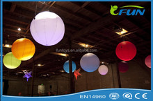 inflatable led balloon decoration/inflatable light lantern for event