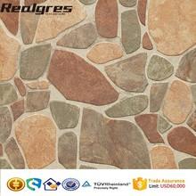 Rock Look 3D Inkjet Printing Tiles, Outdoor Floor Tiles