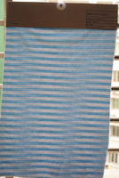The hot sle light green and white striped fabric,cotton interlock knit fabric