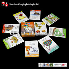 Custom Learning Cards, Customized Design Educational Flash Cards, Customized Intelligent Cards