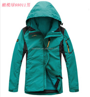 2015 OEM waterproof SPORTEX softshell jacket, soft shell jacket, softsell clothes for winter 88011