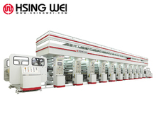 Flexible packaging printing machine