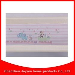 2015 the baby new products custom mesh bed rail cover