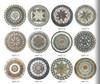 pattern medallion floor tiles