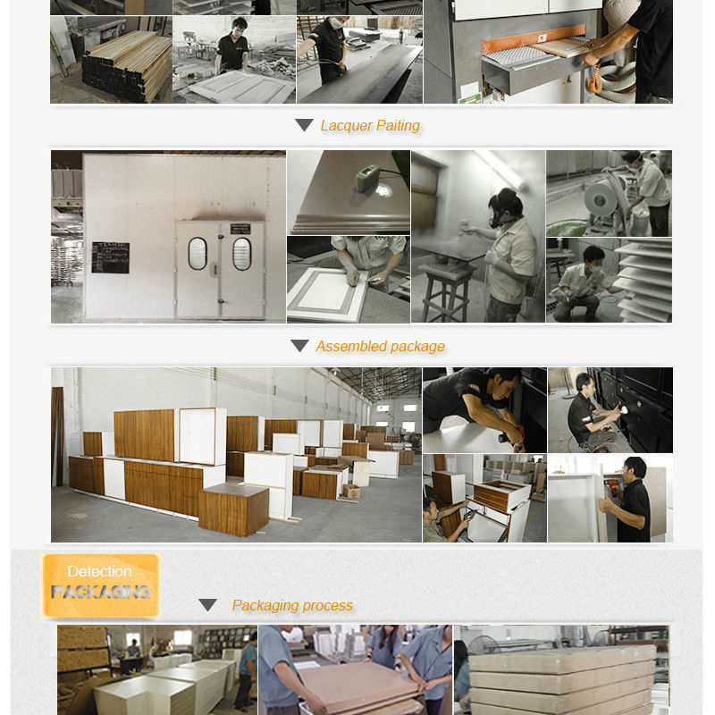 Wholesale factory MDF kitchen cabinet carcasses