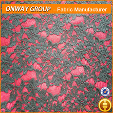 guipure chemical lace nylon spandex indian lace fabrics