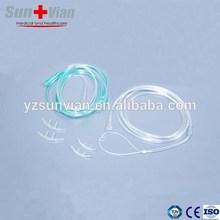 nasal de oxígeno cánula nasal de oxígeno del tubo