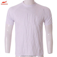 2015 china manufacturer wholesale custom cheap plain white t-shirt wholesale