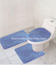 3pcs PP toliet seat/cover toilet set/ cover toilet Bath Rug