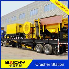 SMC600 Crusher Plant Jaw Crusher Station