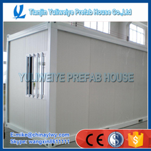 low cost prefab container house / Flat pack container house living 20ft container house
