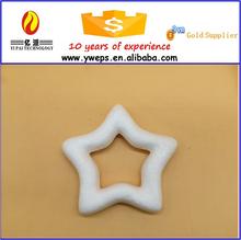 YIWU hollow plastic christmas star/styrofoam star for christmas decoration